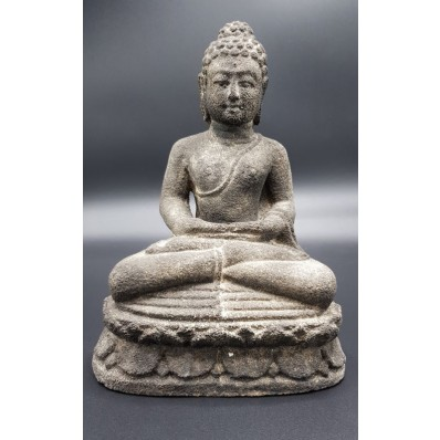 Bouddha en dhyana mudra balinais