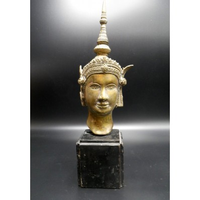 Statue thailandaise : Kinnara milieu XXème