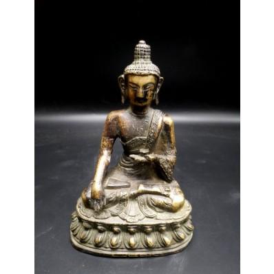 Statue bouddha inde Bhûmishparsha-mudrâ mil. XXème