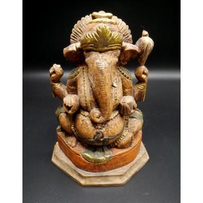 Statue indienne : Ganesh XXème