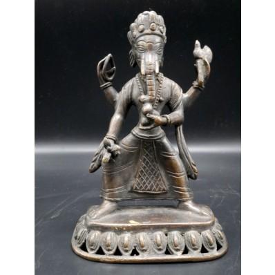 Statue ganesh indienne XXème