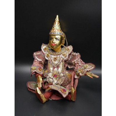 Thagyar Min : marionnette Birmane XXème