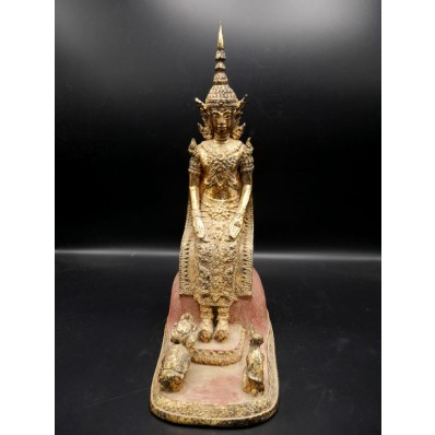 Grand bouddha ratanakosin en varada mudra XXème