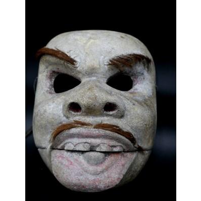 kicir ou Bibih Cungih :Masque balinais de bondres du topeng