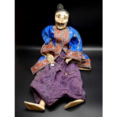 U Swe Yoe le viel homme marionnette birmane