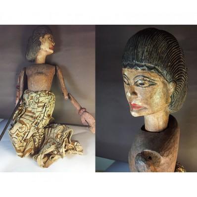 Marionnette javanaise du Wayang Gambyong