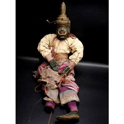marionnette birmane Nan Belu l'ogre des villes