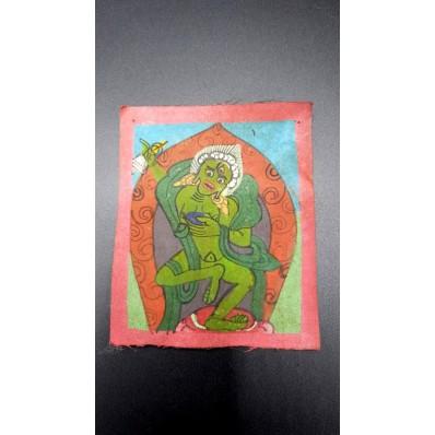 Tangka miniature XXème