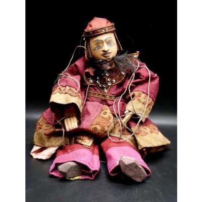 Zawgyi l'alchimiste : marionnette birmane XXème