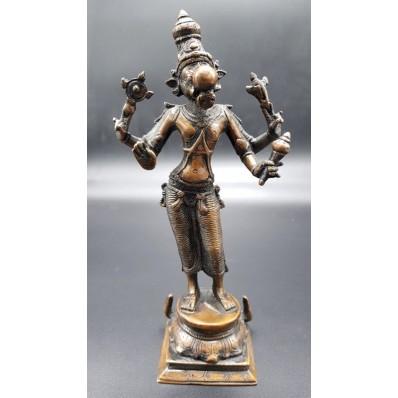 Statue indienne - avatar de vishnu