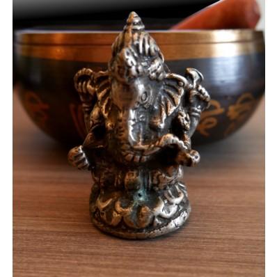 Statue ganesh XXème : petit porte bonheur