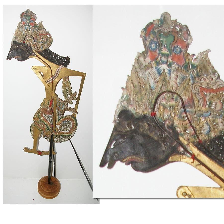 bathara indra marionnette javanaise. Black Bedroom Furniture Sets. Home Design Ideas