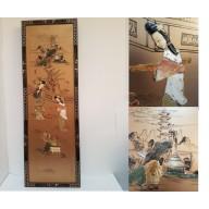 Panneau sculpté chine  debut XXème