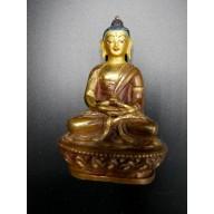 Bouddha en OR 24 carats du Tibet