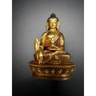 Bouddha recouvert d'OR  du Tibet
