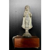 Petit bouddha thailande en abbhaya mudra milieu XXème