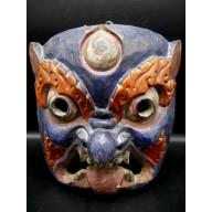 Masque de Lion des Neiges Népal