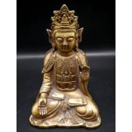 Statue de bouddha Guanyin XXème