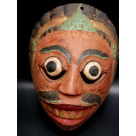 Masque javanais du Wayang mil. XXème