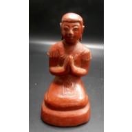Statue bonze birman milieu XXème