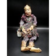 Nan Belu l'ogre des villes marionnette birmane XXème