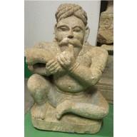 Statue indienne  : Grande statue de temple XVIIIème - XIXème