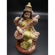 Statue indienne : Sarasvati