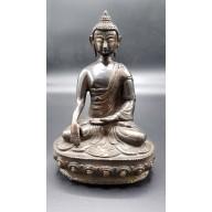 Statue bouddha inde en bhūmisparśa-mudrā XXème
