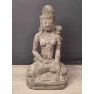 Grande statue de Lakshmi balinaise