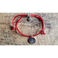 Bracelet Mala tibetain tressé