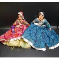 Kathputli : couple de marionnettes du rajastan