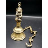 Très grande cloche rituelle d'hanuman XXème