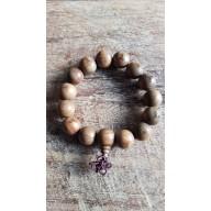 Bracelet mala en bois de phoebe zhennan