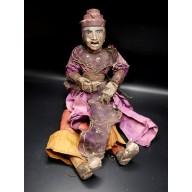 Mintha Gyi le prince régent marionnette birmane XXème