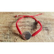 Bracelet Mala tibetain tressé charme arbre de vie