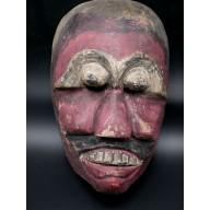 Masque javanais des plaines - Java - XXème