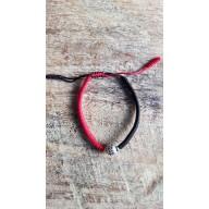 Bracelet Mala tibetain tressé charme