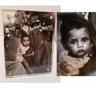 Photo indienne d'enfant  mil. XXème