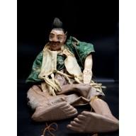 U Swe Yoe le viel homme très grande marionnette birmane