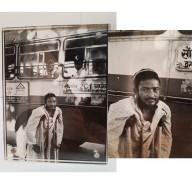 Photo de mendiant noire et blanc. Mil. XXème