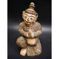 Statue birmane : nat birman milieu XXème