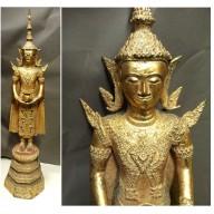 Très grand bouddha ratanakosin XXème
