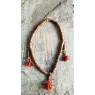 Bracelet collier mala tibétain en os de yak