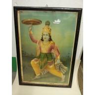 Icone religieuse de Krishna milieu XXème