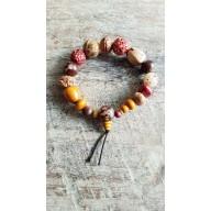 Bracelet Mala en graines bodhi bouddhiste