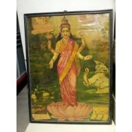 Icone de Lakshmi indienne mil. XXème