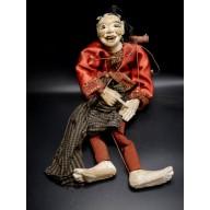 Daw Moe la vieille femme marionnette birmane XXème