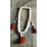 Bracelet mala tibetain en os de Yak