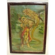 Icone religieuse indienne mil. XXème