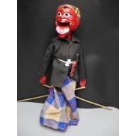 Cepot : Marionnette balinaise XXème